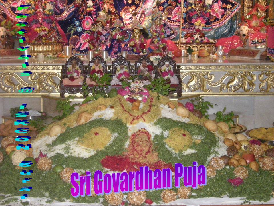 Govardhan Puja on 14 Nov 2012